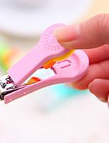 entrega aleatória nova linda clippers desenhos animados unhas doce cor ferramenta prego