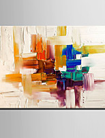 Mini Size E-HOME Oil painting Modern Abstract Pattern Pure Hand Draw Frameless Decorative Painting