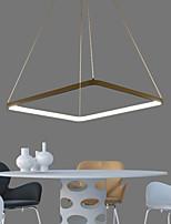 moderno diseño de cuadratura / 55w llevó la luz de techo / ajuste para estar, comedor, despacho