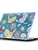 ingekleurde tekening ~ 5 stijl platte behuizing voor MacBook Air 11 '' / 13 ''