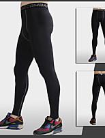 Homme Course Pantalon Yoga / Pilates / Fitness / Sport de détente / CourseRespirable / Séchage rapide / mèche / Compression / Matériaux