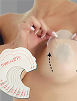 10PCS Bare Lifts Instant Breast Lift Support Invisible Bra Shaper Adhesive Tape