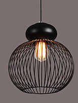 Max 60W Retro Designers Metal Pendant Lights Bedroom / Dining Room / Kitchen / Study Room/Office / Hallway