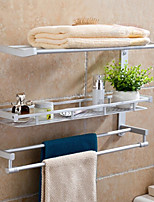 54cm Contemporary Space Aluminum Anodizing Wall Mounted Towel Warmer