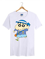 Men's Cotton Lycra Crayon Shin Chan T-shirt 1Pc