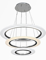 3 Ring DIY Shape LED Acrylic Pendant Lights Ceiling Lamps Chandeliers Fixtures with 50W  CE FCC ROHS