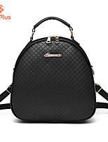 M.Plus® Women's Fashion Plaid PU Leather Backpack