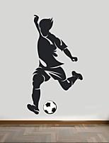 Romance / Mode / Sports Stickers muraux Stickers avion,PVC M:42*75cm / L:55*100cm