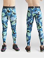 Hombres Carrera Pantalones Yoga / Pilates / Fitness / Deportes recreativos / RunningTranspirable / Secado rápido / Capilaridad /