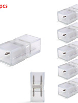 le connecteur 100pcs pour conduits 100-240v lumières de bande 5050 a conduit les accessoires de bande axe d'articulation pour des bandes