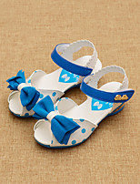 Girls' Shoes Dress / Casual Comfort / Open Toe Sandals Black / Blue