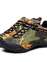 Women's Hiking Shoes Leather / Canvas Green