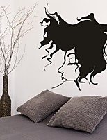 AYA™ DIY Wall Stickers Wall Decals, Sleeping Girl PVC Wall Stickers