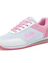 Scarpe Donna-Sneakers alla moda / Scarpe da ginnastica-Tempo libero / Casual / Sportivo-Comoda / Chiusa-Zeppa-Tulle-Blu / Rosa