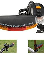 3 in1 7-LED Bicycle Bike Rear Tail Turn Signal Brake Light Horn Safety Lamp