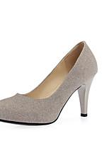 Women's Wedding Shoes Heels / Round Toe Heels Wedding / Party & Evening / Dress Blue / Purple / Gold