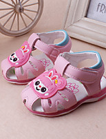 Baby Shoes Dress / Casual Leather Sandals Pink / Peach