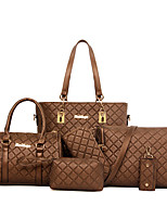 VUITTON Women PU Barrel Shoulder Bag / Tote / Satchel / Clutch / Wallet-White / Blue / Gold / Brown / Black