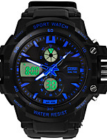 Sport-Uhr Herren / Damen / Unisex LCD / Kalender / Chronograph / Wasserdicht / Duale Zeitzonen / Sportuhr digital digital