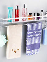 40cm Contemporary Space Aluminum Anodizing Wall Mounted Bathroom Shelf