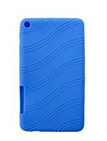 borracha de silicone tampa da caixa da pele gel para Huawei MediaPad t1 t1-701u 7