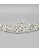 Dame Rhinsten / Krystal / Legering Medaljon Bryllup / Speciel Lejlighed Diademer Bryllup / Speciel Lejlighed 1 Stykke