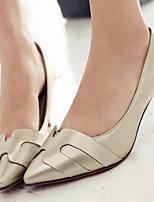 Scarpe Donna-Scarpe col tacco-Ufficio e lavoro / Formale / Serata e festa-Tacchi / A punta-A stiletto-Finta pelle-Argento / Dorato /