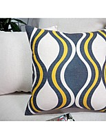 Pillow Case Europe Style Geometric Print Cotton Linen Multicolor Home Cushion Comfortable Back Throw  Cove 45*45cm