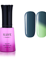 ILuve Nail Polish Temperature Colour Changing Chameleon UV Led Gel - For Nail Art - Long Lasting Soak Off Varnish # 5711