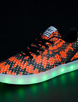 LED light Shoes Casual Fabric Fashion Sneakers Yellow