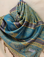 Tourism National Wind Fringed Scarves Female Jacquard Embroidery Autumn And Winter Shawl