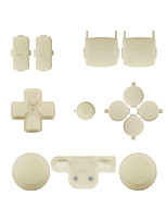 Replacement Controller Case Assembly Kit Set for PS3 Controller Black/Red/White