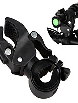 Bike Flashlight LED Torch Mount Clip 360 Degree Rotation Cycling Clip Clamp Bicycle Light Holder