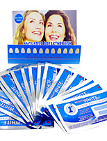 Grinigh Profesional Teeth Whitening Ultra Thin Dry Strips with Non Slip Comfort Formula | 28 Treatments, mint flavor