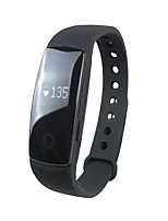 Bluetooth 4.0 pulsera inteligente de seguimiento de la aptitud pulsómetro banda inteligente pulsera para ios android