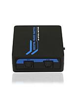 SPDIF/TOSLINK Digital Optical Audio 2*1 Switcher with IR Remote CE FCC RoSH Certified