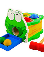 Children Knock Wooden Puzzle Toy Shrewmouse Beat