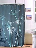 Modern Dandelion Polyester Shower Curtains W71