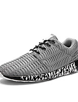 Men's Sneakers Spring Summer Fall Light Soles Tulle Athletic Low Heel Running