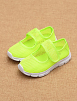 Girls' Shoes Athletic / Casual Comfort / Round Toe / Closed Toe Tulle Fashion Sneakers Blue / Green / Pink / Red / White