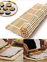 1pcs Sushi Rolling Roller Mat Sushi Roll Maker House Kitchen DIY Bamboo Sushi Mat
