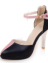 Women's Shoes Stiletto Heel/Platform/D'Orsay & Two-Piece/Pointed Toe Heels Party & Evening/Dress Pink/White