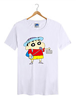 Men's Cotton Lycra Crayon Shin Chan T-shirt 1Pc