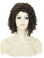 Reasonable In Price Extensions Women Lady Charming Style Black Color Synthetic Wigs
