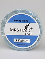 Super Extended Tape 3 Yards Super Hair Tape Double-Sided Adhesive Tape Width 0.8cm For Tape Hair Extension/Lace Wig