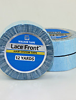 Super Double-Sided Adhesives Blue Tape Lace Front Support Tape Length 1097CM For Tape Hair Extensions/Lace Wigs