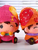 Creative Cute Cartoon Children Afraid Of Fall Of Evade Glue Tank Birthday Present Desktop Furnishing Articles