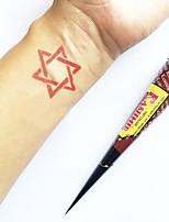 Natural Herbal KASHMIR Henna Cones Temporary Tattoo kit Mehndi Kaveri (Red)