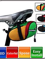 Bolsa para Bagageiro de Bicicleta(verde claro,Poliéster)Seca Rapidamente / Vestível Ciclismo