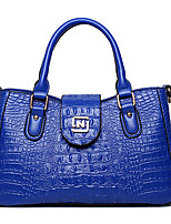 VUITTON Women PU Shopper Shoulder Bag / Tote / Satchel-White / Blue / Brown / Black / Burgundy